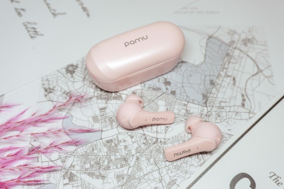 Słuchawki Pamu Mini t6c różowe