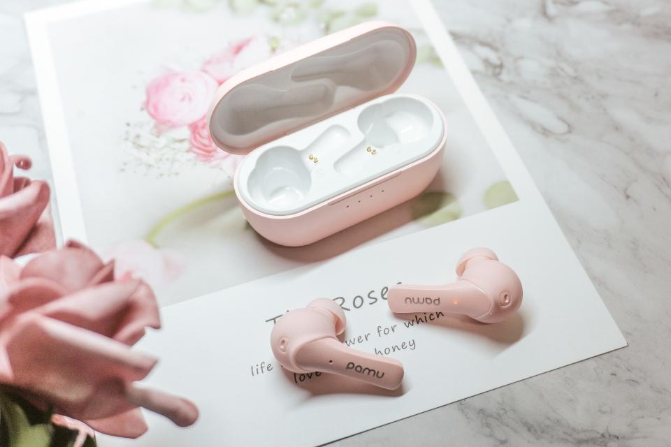 Słuchawki Pamu Mini t6c pink